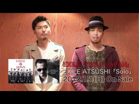 EXILE / 『EXILE JAPAN / Solo』スペシャルコメント
