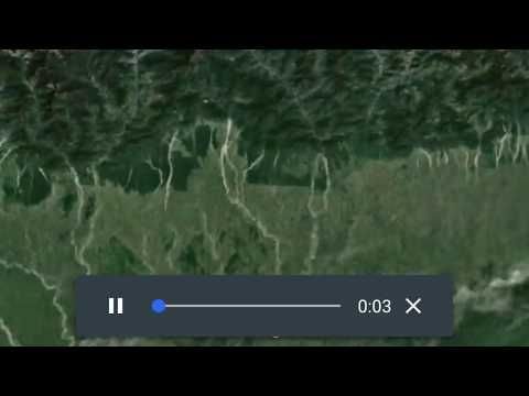 Viewing Tours in the new Google Earth