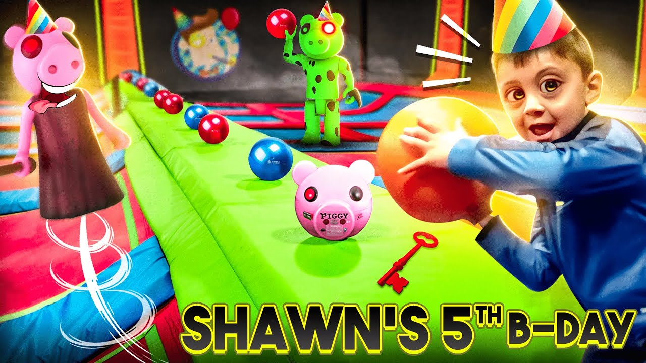 maxresdefault - SHAWN'S VERY PIGGY Birthday!!  (FV Family Escape Room Bday Haul Vlog)