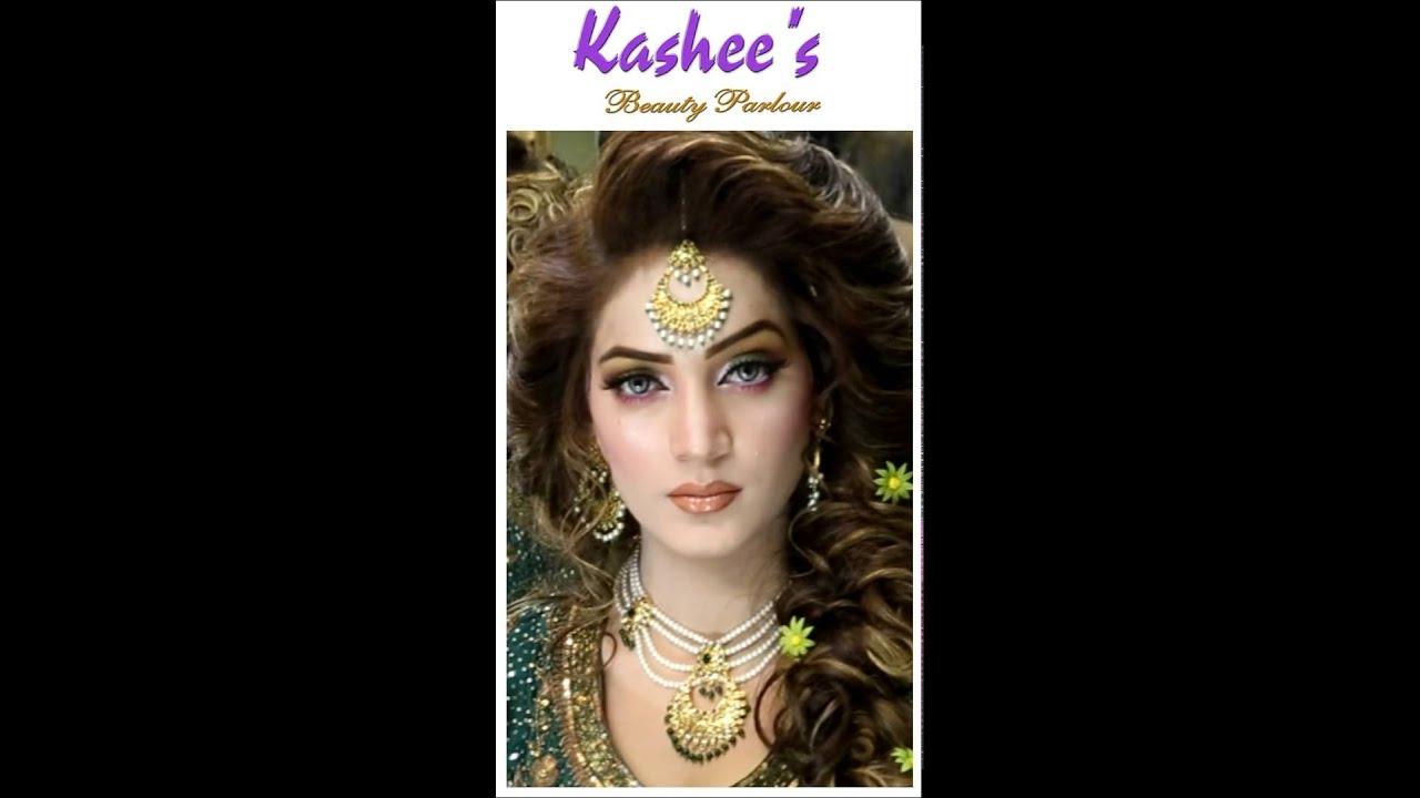 Kashee S Awe Inspiring Bridal Model Makeup Hairstyle By Kashif Aslaml Youtube