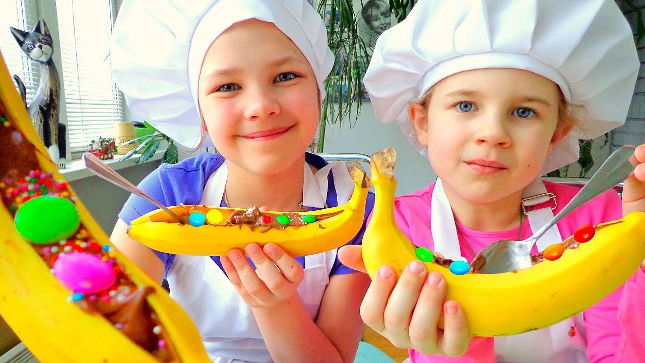 Рецепт торта из пряников без выпечки с бананами