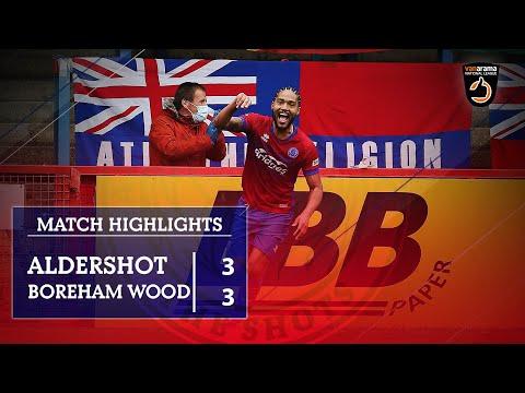 Aldershot Boreham Wood Goals And Highlights