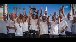 Watch Tempus Fugit race in the Loro Piana Superyacht Regatta and Superyacht Cut Palma