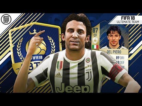 THE FINAL UPGRADES!!! F8TAL ICON! KING DEL PIERO! #5 - FIFA 18 Ultimate Team