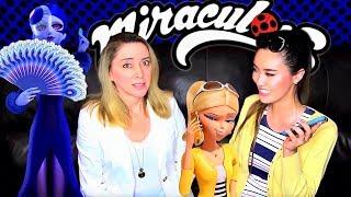 Miraculous Ladybug Role-play! ft. SABRINA WEISZ 🦚 voice of MAYURA - Nathalie | Valory Pierce