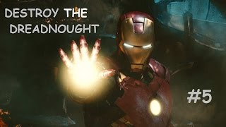 Iron Man Walkthrough  Part- 5  DESTROY THE DREADNOUGHT