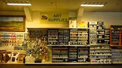 Art Supplies at the Sunnyvale Art Gallery