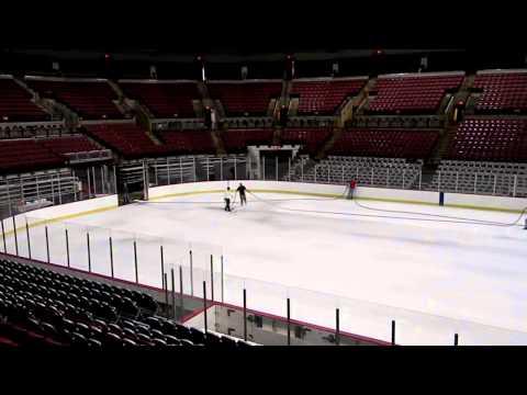 The Schottenstein Center Ice Build