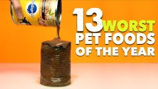 The 13 Worst Pet Foods