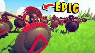 TABS - Epic Battles! THIS IS SPARTA! Awesome Spartans - Totally Accurate Battle Simulator