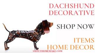 Dachshund Decorative Items Dachshund Home Decor