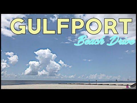 GULFPORT MISSISSIPPI GULF COAST BEACHES ON HIGHWAY 90