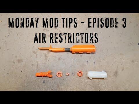 Monday Mod Tips - Episode 3 - Air Restrictors