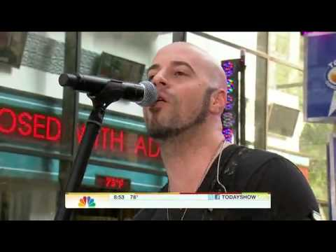 Daughtry performing September on the Today Show  8202010