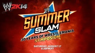 wwe 2k14 30 years of wrestlemania symposium official