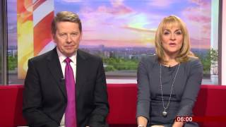 BBC Breakfast: Bill Turnbull's Last Day - Programme Open - 26/2/16
