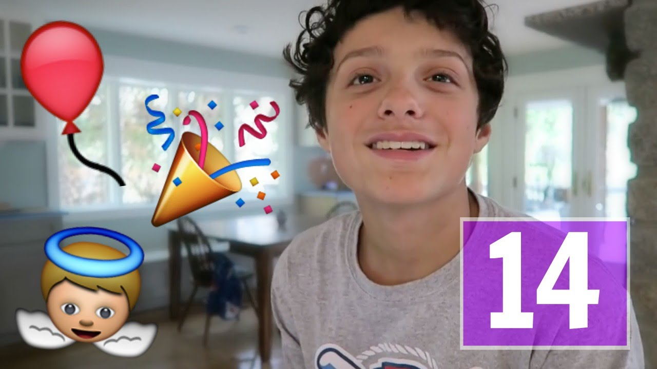 Happy 14th Birthday Caleb! - YouTube