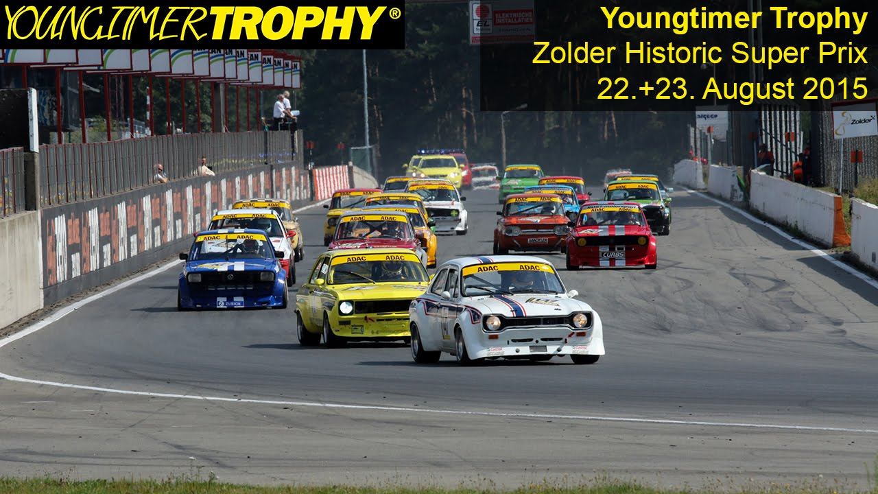 YOUNGTIMER TROPHY: Zolder Historic Super Prix 2015 - YouTube
