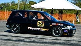 Nyce1s - Jason Moussa's Nissan Pulsar GTI-R @ Drag Wars St. Lucia 2K13...