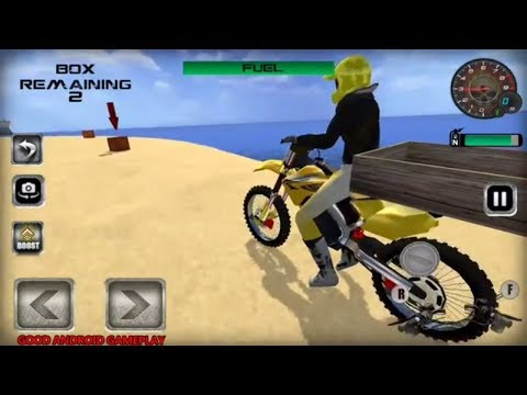 Moto Beach Jumping Cross - Real MOTORBIKE Boxing Transport Android GamePlay FHD