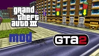 GTA3: GTA2 Renderware (GTA2 Map in GTA3)