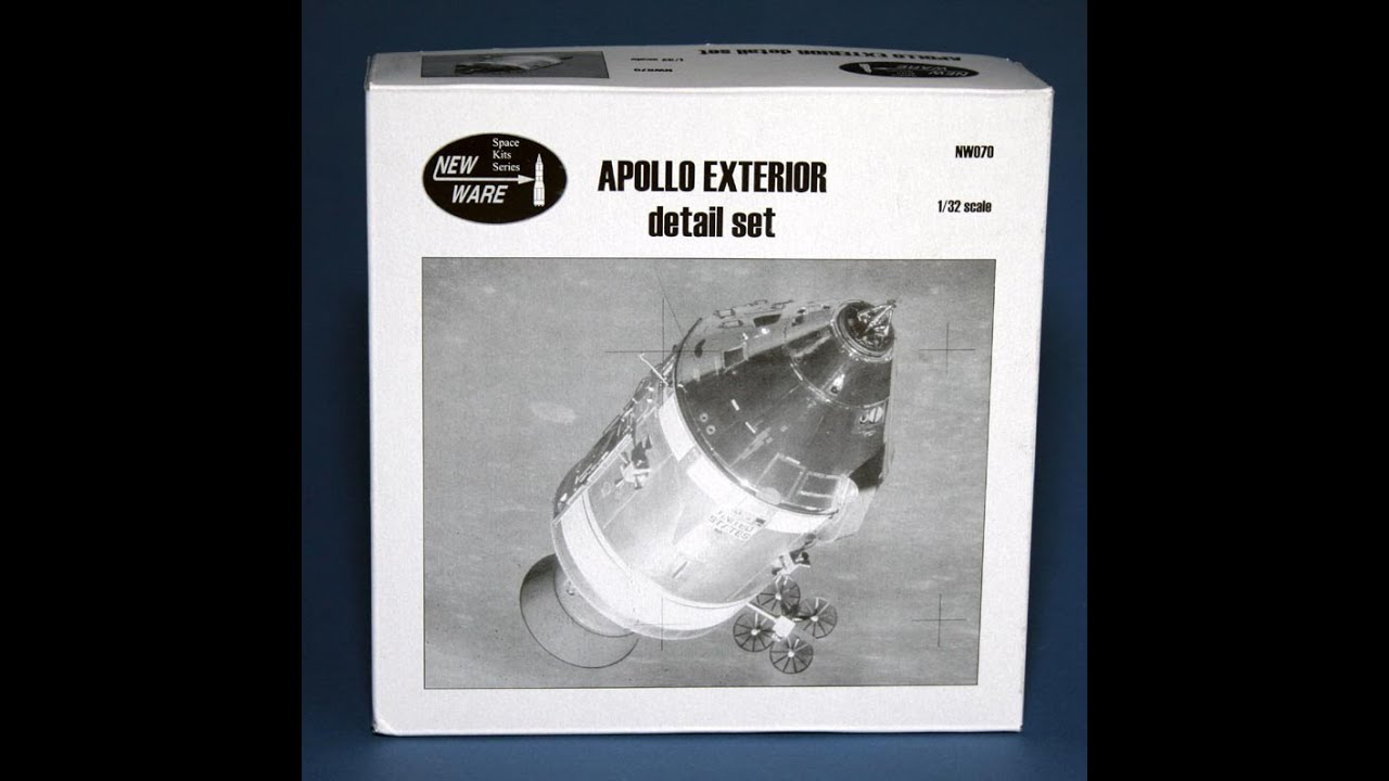 Review : New Ware upgrade sets for 1/32 Apollo 11 Spacecraft