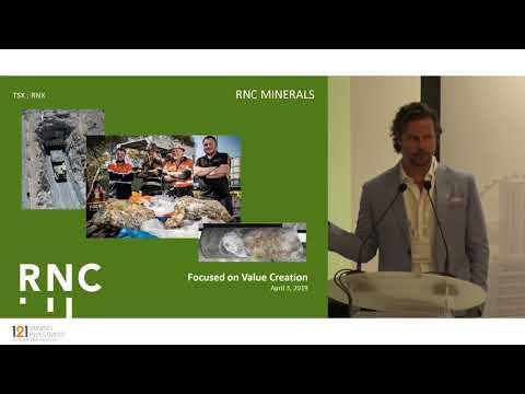 Presentation: RNC Minerals - 121 Mining Investment Singapore 2019 Spring