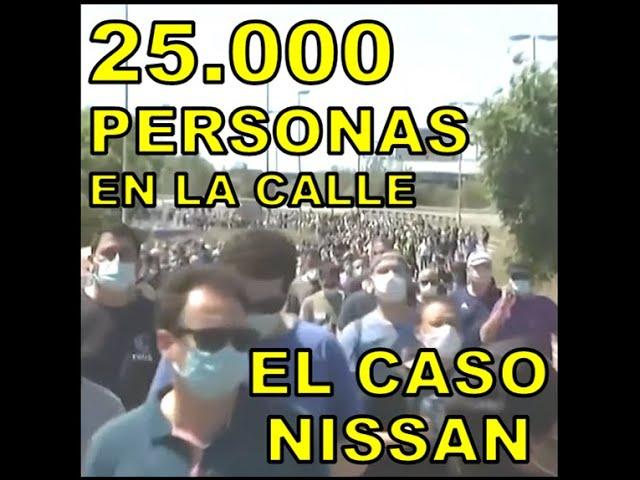 25.000 PERSONAS EN LA CALLE (EL CASO NISSAN) - Rap En Contrataque 1