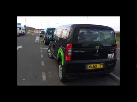 Little Bipper, BioTravel Taxi at Newquay Airport