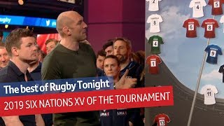 7 Welsh players! Rugby Tonight's Six Nations team of the tournament | BT Sport