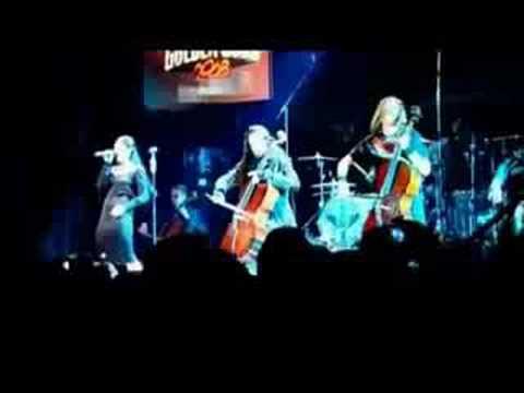 Apocalyptica Ft Cristina Scabbia  SOS Golden Gods 2008
