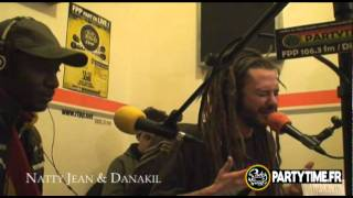 BALIK (Danakil) & NATTY JEAN - Freestyle at Party Time Radio Show - 2011