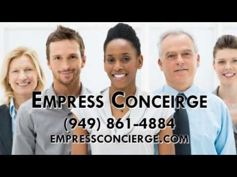 Personal Concierge, Luxury Transportation in Irvine CA 92618