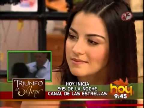 Maite Perroni y William Levy promocionan TDA en HOY
