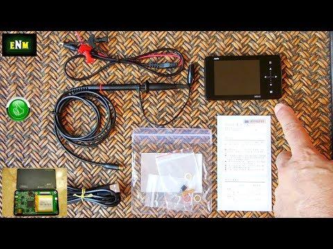 Ultra Compact Digital Storage Dual Channel Oscilloscope & Signal Generator!