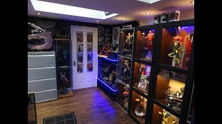 MARVEL STATUE COLLECTION ROOM TOUR 2018