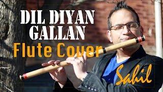 Dil Diyan Gallan Song | Tiger Zinda Hai | (Flute / Bansuri Cover) Instrumental by Sahil Khan