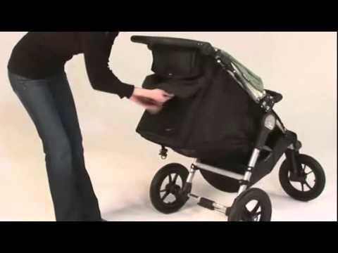 Baby Jogger City Elite Single Stroller - YouTube