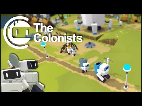 Erste Grundlagen - The Colonists #01 [Gameplay German Deutsch]