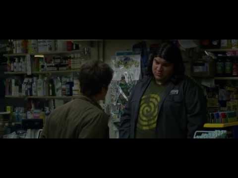Michael Barra in The Amazing Spider Man store clerk, milk
