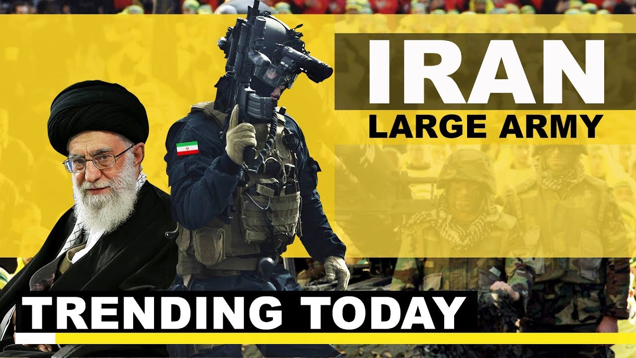 Trending today: What Does America Have To Fear About Iran's Large Army