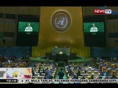 BT: DFA Sec. Cayetano, muling ipinagtanggol sa U.N. ang kampanya kontra-droga ng gobyerno