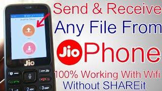 Paylaşmak Jio Telefondan WiFi | Herhangi Bir Video Göndermek Ve Almak Nasıl Dosyalar , Belgeler, Fotoğraflar Ve Müzik