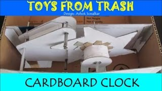Cardboard Clock Kannada Grandfather Tick-Tock