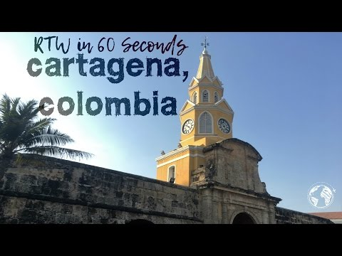 Cartagena, Colombia: Round the World in 60 Seconds