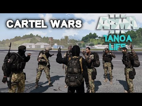 Arma 3 Tanoa Life Mod - Drug Runners - Cartel Wars