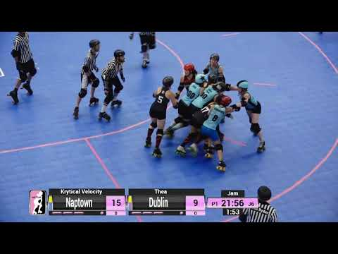 WFTDA Roller Derby - Division 2, Pittsburgh - Game 29 - Naptown vs. Dublin