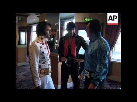 Lookalike contest as Elvis fans mark 75th birthday