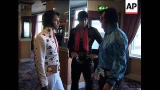 Lookalike contest as Elvis fans mark 75th birthday