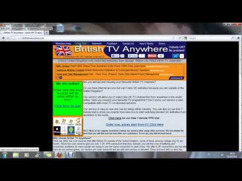 How to watch UK TV abroad online